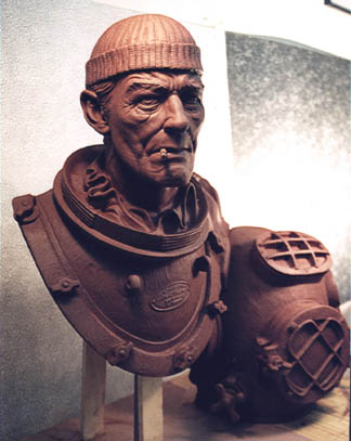 Deep Sea Diver Sculpt